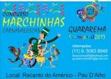 Associação Comercial promove 1º Concurso de Marchinhas Carnavalescas em Guararema.