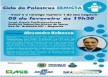 Associação Comercial convida empreendedores para palestra do SEMICTA.